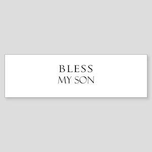 MY SON Bumper Sticker