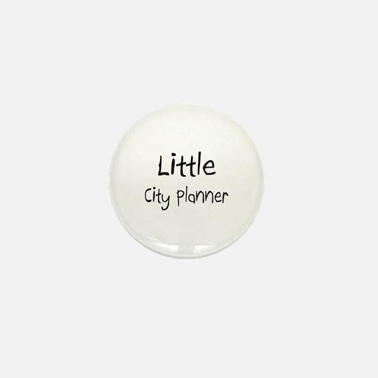 Little City Planner Mini Button