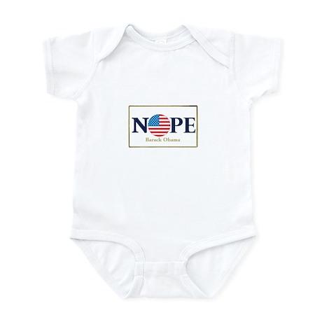 Obama NOPE Infant Bodysuit