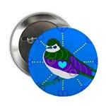 Violet-green Swallow Button