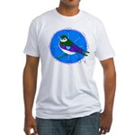 Violet-green Swallow Fitted T-Shirt