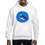 Violet-green Swallow Hooded Sweatshirt