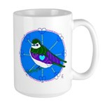 Violet-green Swallow Large Mug