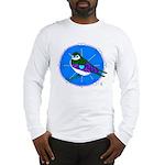 Violet-green Swallow Long Sleeve T-Shirt