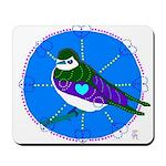 Violet-green Swallow Mousepad