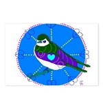 Violet-green Swallow Postcards (Package of 8)