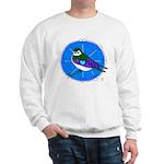 Violet-green Swallow Sweatshirt