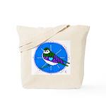 Violet-green Swallow Tote Bag