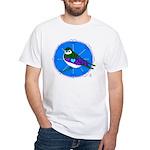 Violet-green Swallow White T-Shirt
