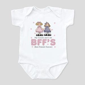 Cousin and I Best Friends BFFs Infant Bodysuit