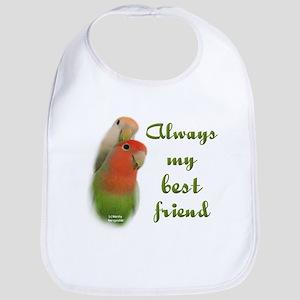 Lovebirds: Best Friends Bib