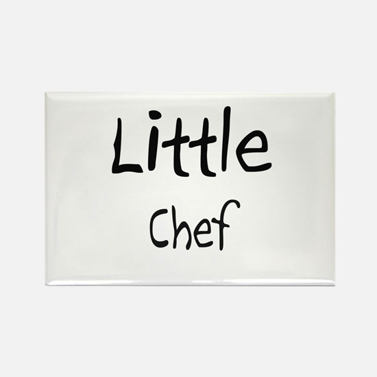 Little Chef Rectangle Magnet