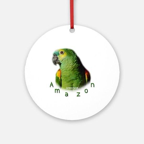 Amazon Parrot Ornament (Round)