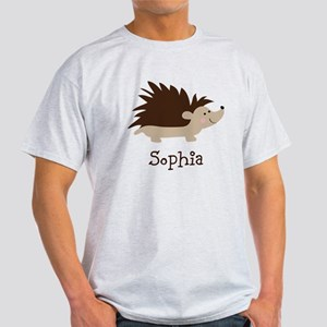 Custom Name Hedgehog T-Shirt