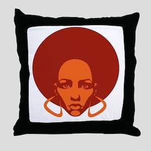Afrolicious Throw Pillow