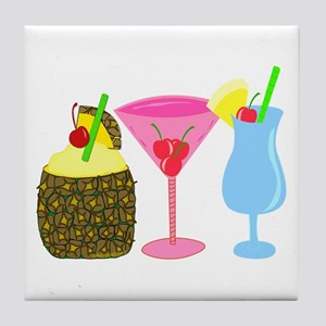 Cocktails Anyone? Tile Coaster