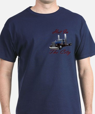 Hot In The City Truckers T-Shirt