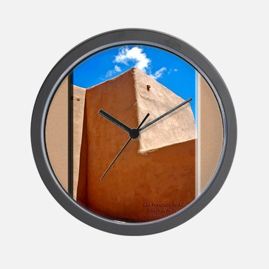 Rancho de Taos Church Wall Wall Clock