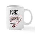 All About Poker Mug