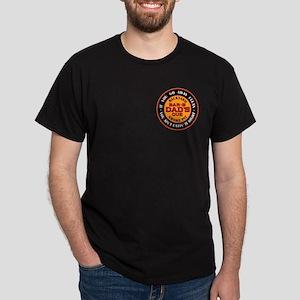 Dad's Backyard Bar-b-que Pit Dark T-Shirt