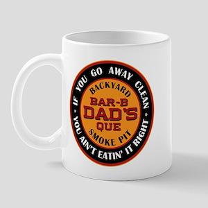 Dad's Backyard Bar-b-que Pit Mug