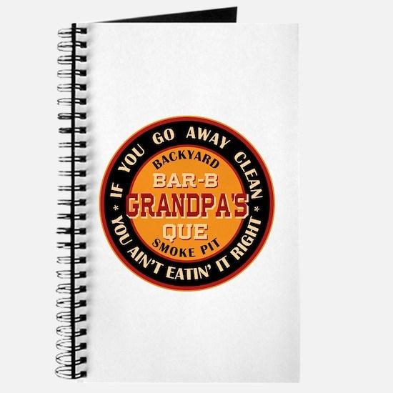 Grandpa's Backyard Bar-b-que Pit Journal