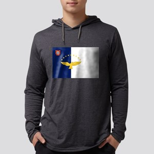 Flag of Azores Long Sleeve T-Shirt
