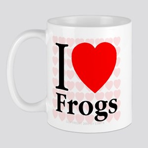 I Love Frogs Mug