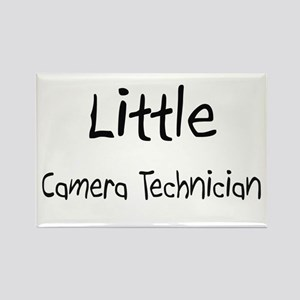 Little Camera Technician Rectangle Magnet