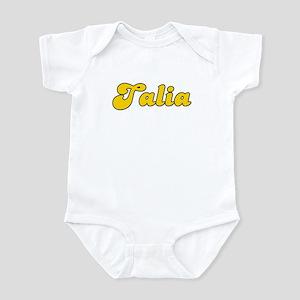 Retro Talia (Gold) Infant Bodysuit