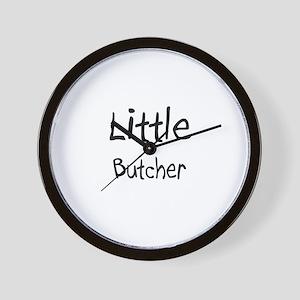 Little Butcher Wall Clock