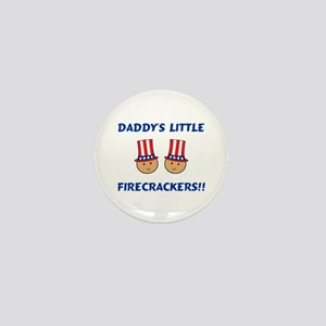 Daddy's Firecrackers Mini Button