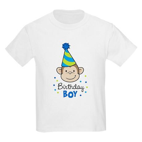 Birthday Boy - Monkey Kids Light T-Shirt