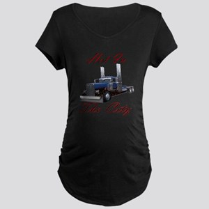 Hot In The City Maternity Dark T-Shirt
