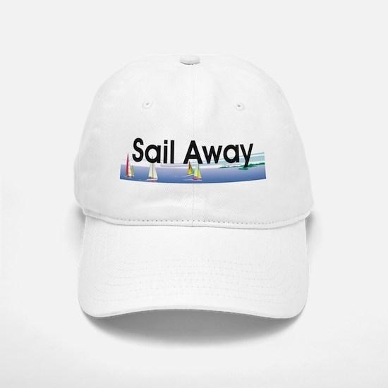 TOP Sail Away Baseball Baseball Cap
