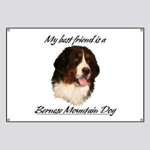 Bernese Best Friend Banner