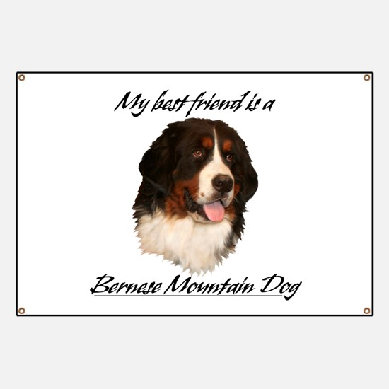 Bernese Best Friend Banner