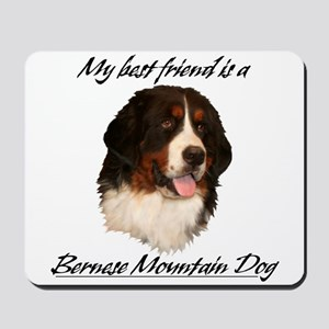 Bernese Best Friend Mousepad