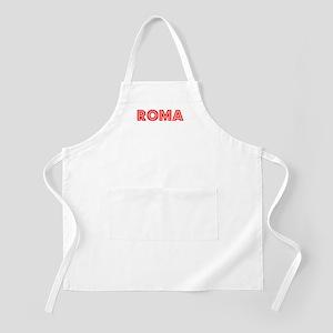 Retro Roma (Red) BBQ Apron