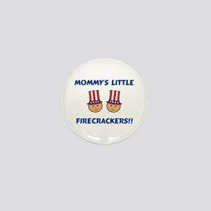 Mommy's Firecrackers Mini Button
