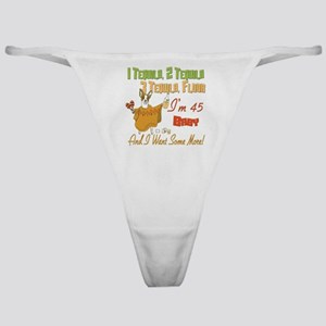 Tequila 45th Classic Thong