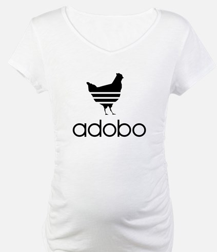 Adobo Black Print Shirt