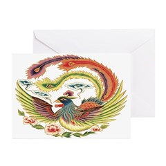 Luck Rooster Greeting Cards (Pk of 10)