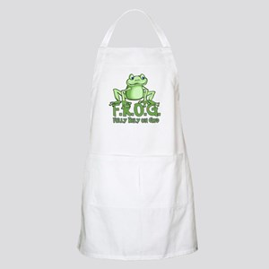 Fully Rely on God BBQ Apron