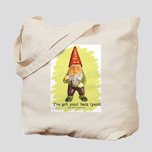Gnome Got Your Back Tote Bag