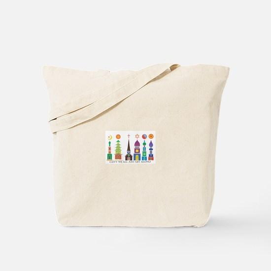 Cute Cultural diversity Tote Bag