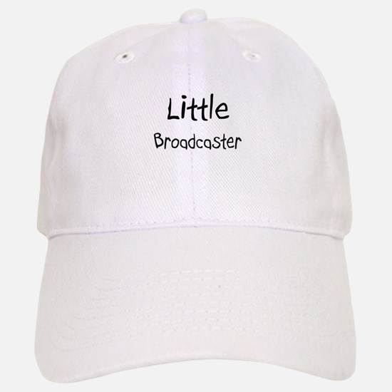 Little Broadcaster Baseball Baseball Cap