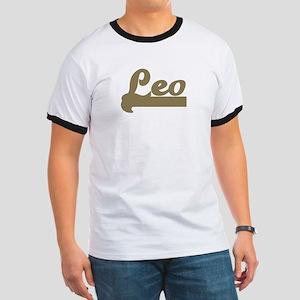 Retro Leo Ringer T