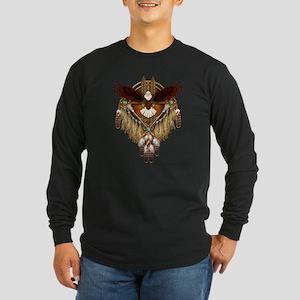 Bald Eagle Mandala Long Sleeve T-Shirt