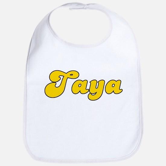 Retro Taya (Gold) Bib